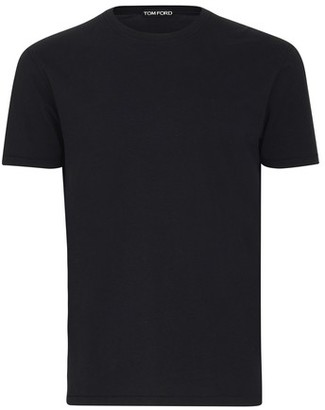 Tom Ford Viscose coton jersey short sleeve T-shirt