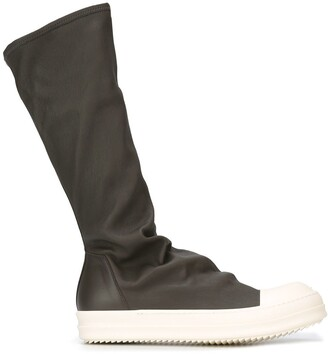 Rick Owens Sock High Top Boots