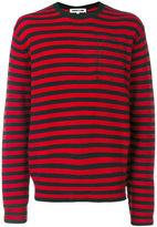 McQ by Alexander McQueen striped jumper