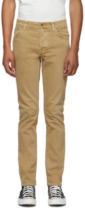 Nudie Jeans Tan Grim Tim Jeans