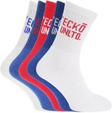 Ecko Unlimited Unltd Mens Cotton Rich Socks With Contrast Logo (Pack Of 5)