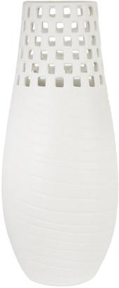 Sagebrook Home Ceramic Cutout Vase
