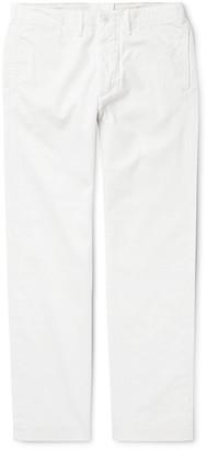 Ralph Lauren RRL Tapered Cotton-Herringbone Trousers