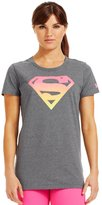 Under Armour Women's Alter Ego Ombre Supergirl Semi-fitted T-shirt