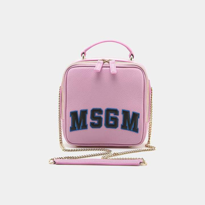 MSGM Classic Block Letter Backpack