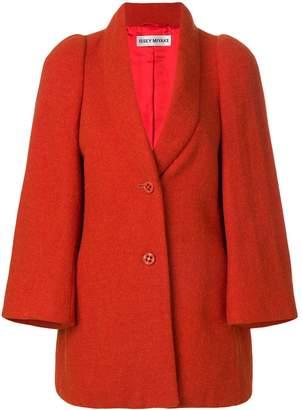 Issey Miyake Pre-Owned shawl collar coat