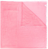 Faliero Sarti raw edge scarf - women - Silk/Modal - One Size