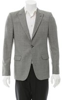 Alexander McQueen Wool Glen Plaid Blazer w/ Tags