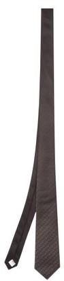 Burberry Manston Tb-jacquard Silk Tie - Black Multi