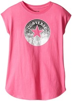 Converse Dropped Shoulder Tee (Big Kids)
