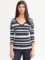 Banana Republic Heidi stripe tee