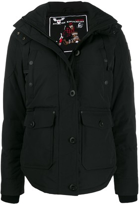 Moose Knuckles Hooded Parka Coat
