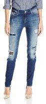 Mavi Jeans Women's Ada Grunge Patched Vintage