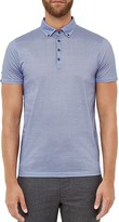 Ted Baker Aneglo Geo Print Regular Fit Polo