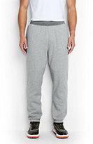 Lands' End Men's Serious Sweats Sherpa Pants-Gray Heather