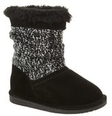 BearPaw Girls' Donna Suede Boot.