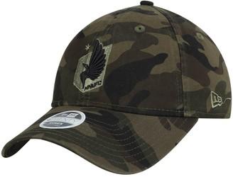 New Era Women's Camo Minnesota United FC Core Classic Tonal 9TWENTY Adjustable Hat