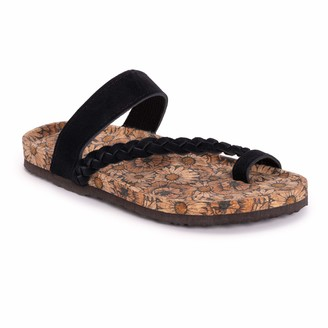 Muk Luks Women's Keia Sandals Black 9
