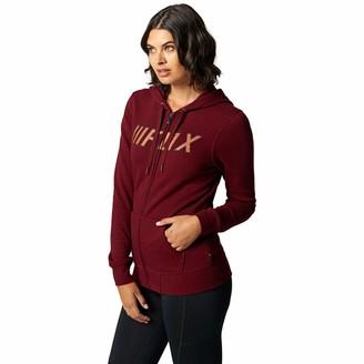 Fox Racing Women's Break Check Fleece Hoody X-Large