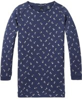 Scotch & Soda Long Sleeve Paisley Dress