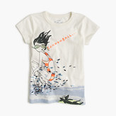 J.Crew Girls' Olive cannonball T-shirt