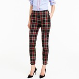 J.Crew Tall Martie pant in Stewart plaid bi-stretch wool