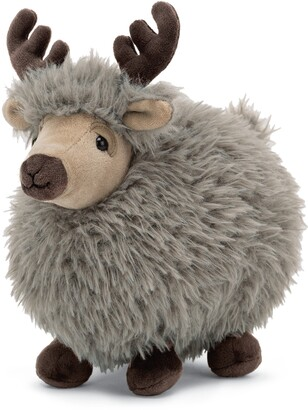 Jellycat Small Rolbie Reindeer Stuffed Animal