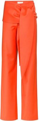 MATÉRIEL Tie-Waist Wide-Leg Trousers