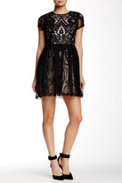 Alexia Admor Sequin Lace Dress