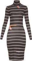 Preen by Thornton Bregazzi Tere roll-neck jersey midi dress