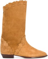 Isabel Marant Lace-Trimmed Boots