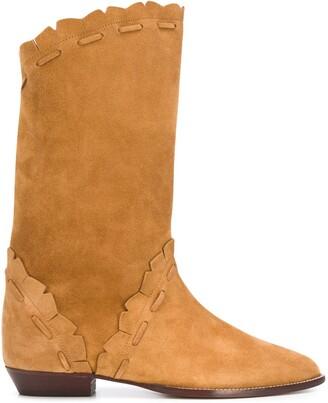 Isabel Marant Sezari low-heel boots