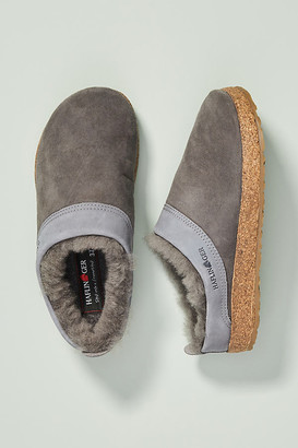 Haflinger Snowbird Slippers By in Grey Size 36