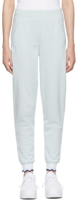 Opening Ceremony Blue Scalloped OC Elastic Lounge Pants