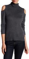 T Tahari Flynn Cold Shoulder Sweater