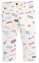 Stella McCartney Girl's Lohan - Name Print Jeans