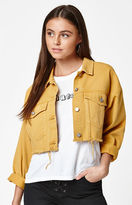 PacSun Colored Cropped Trucker Jacket