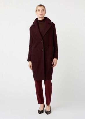 Hobbs Rani Wool Blend Coat