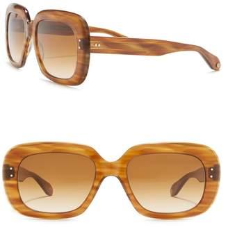 Garrett Leight Amoroso 54mm Oversized Sunglasses