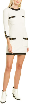 Elisabetta Franchi Pocket Mini Dress