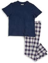 UGG Tee and Plaid Pants Pajama Set