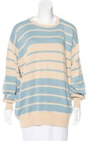Malo Striped Knit Sweater