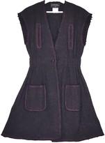 Chanel Purple Tweed Dress for Women