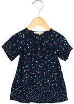 Stella McCartney Girls' Short Sleeve Floral Print Top