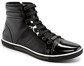 Kenneth Cole New York Base Down Casual High-Top Sneakers
