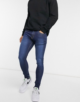 Criminal Damage Core Skinny jeans dark wash