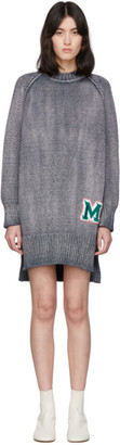 MM6 MAISON MARGIELA Blue Knit M Sweater Dress