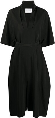 Jil Sander Tie Waist Shirt Dress