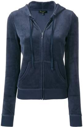 Juicy Couture zip-up hooded jacket