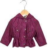 Burberry Girls' Nylon Rain Coat